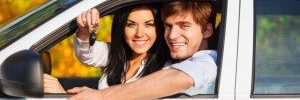Couple with New Car