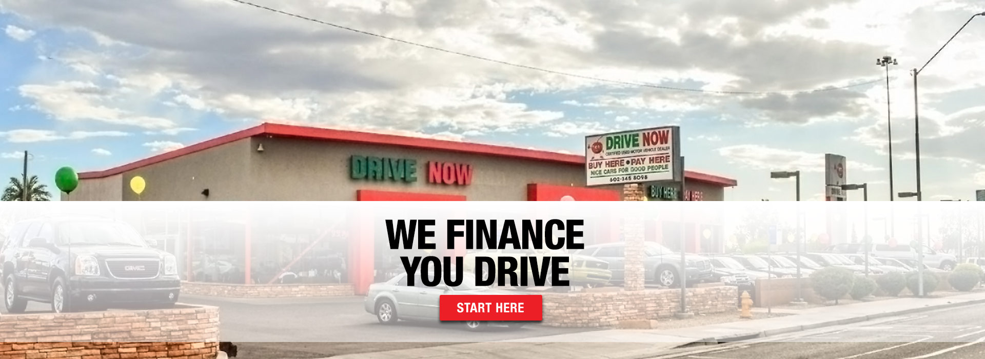 We Finance, You Drive